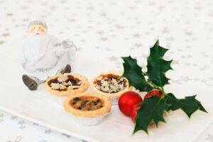 A picture of mince pies