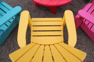 A picture of outdoor furniture